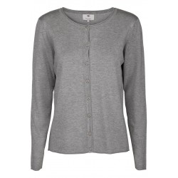 Jane knit cardigan grey